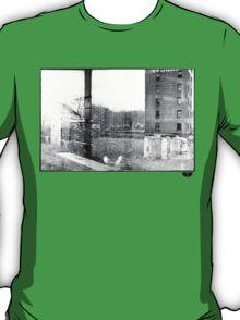 photo fade building T-Shirt