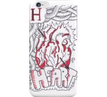 H is for Heart iPhone Case/Skin