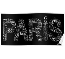 Paris Typographic Poster