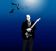 David Gilmour The Blue by giltour