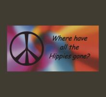 Hippies Tee by JenLand