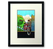 Bike Fest Framed Print