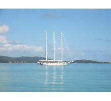 Sailing the Whitsundays Photographic Print