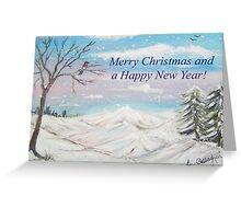 Winter Wonderland Card Greeting Card