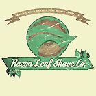 Pokemon -  Razor Leaf Shave Company (Distressed) by PPWGD