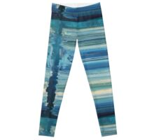 The Unbecoming - Abstract Blue Leggings