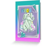 Special Hugs Greeting Card