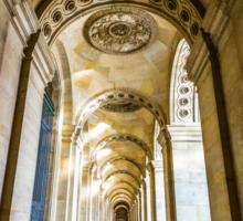 Musee du Louvre, Paris 2 Sticker