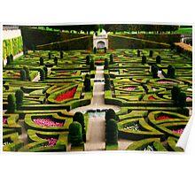 Jardin d'Amour - Villandry Poster
