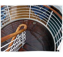 Stairways and Curves  Poster