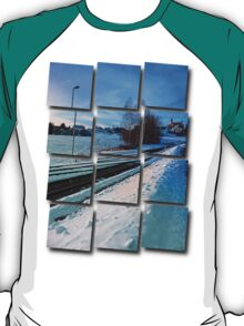 The end of the railroad II | landscape photography T-Shirt