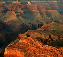 Grand Canyon Landscape by Stephen Vecchiotti