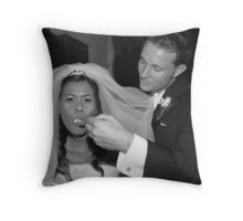 Love, Honor And Obey Throw Pillow