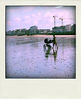 Faux-polaroids - Travelling (14) by Pascale Baud