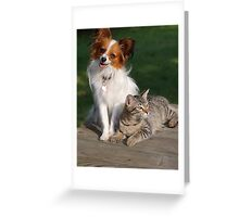 Topper & Weezie Greeting Card