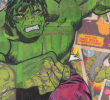 Vintage Comic Hulk Sticker
