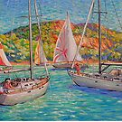 Sailboats by HDPotwin