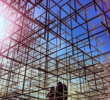 Construction Architecture and Love by lanesloo