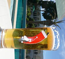 One way to have a beer at Christmas by MrBox