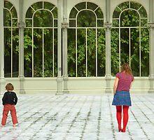 The Crystal Palace - Retiro Park, Madrid by Francisca Westerterp-Muñoz