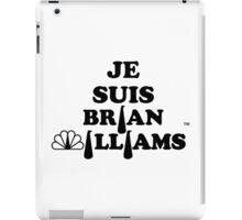 Je Suis Brian Williams iPad Case/Skin
