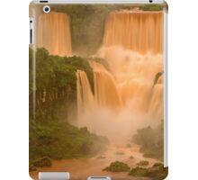 The Red Falls of Iguazu, Argentina/Brazil Border #1 iPad Case/Skin