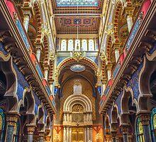 Jerusalem Synagogue Interior, Prague, Czech Republic by acaldwell