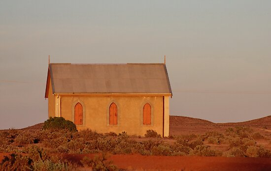 Outback Church by Tainia Finlay