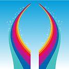 Rainbow Sparkle by David & Kristine Masterson