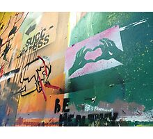 Another Wall Of Graffiti And Feelings Photographic Print