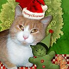 Merry Kitty Christmas by Elizabeth Burton