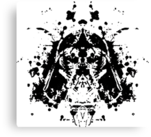 Darth Vader Test Canvas Print