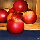 Apples Still Life by Barry W  King