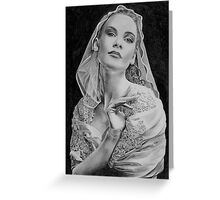 Classic Lace Greeting Card