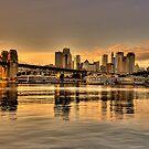 Reflections Of Morn - Moods Of A City - The HDR Series by Philip Johnson