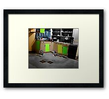 cozy in the burbs...moving out again part 2 Framed Print