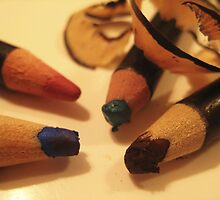 Make Up Series - Pencils by justineb