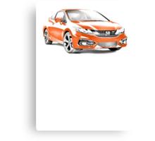 2014 Honda Civic SI Coupe Canvas Print