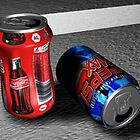 Drink cans by Paul Elder