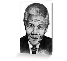 NELSON MANDELLA  Greeting Card
