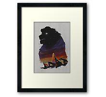 The Pride Framed Print