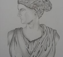 Athena Bust by Z.S. Lewis