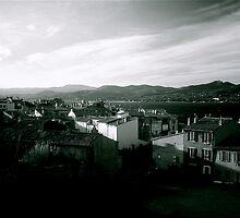 St.Tropez en hiver by Daniel Sorine