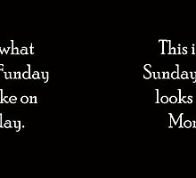 Sunday Funday.....on Monday by cussingcups