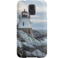 Castle Hill Lighthouse at Sunset Samsung Galaxy Case/Skin