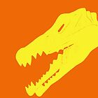 Dino in Yellow and Orange by Kadwell