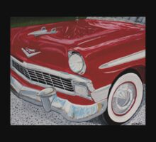 Chrome King, 1956 Chevy Bel Air Kids Clothes