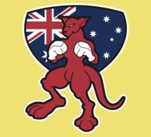 Boxing Kangaroo Australia Kids Clothes