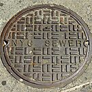 NYC Sewer Cover. by Andrew Ferguson