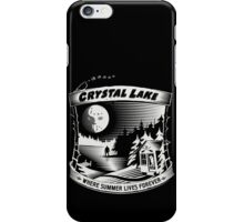 Camp Crystal Lake: Where Summer Lives Forever iPhone Case/Skin